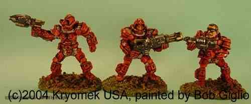 Cobra Marines I (flame, Chain Gun, c.rifle)