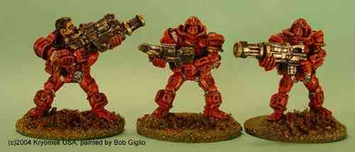 Cobra Marines III (gren lnchr, c.rifle, Chain Gun)