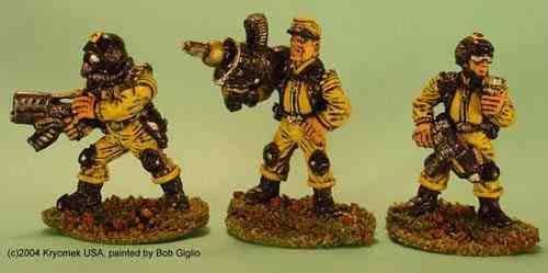 Security Troops I (SMG/GL, rocket launcher, shotgun)