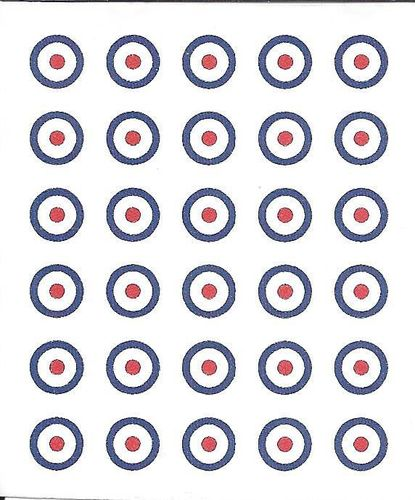 British Roundels, 3 color- large